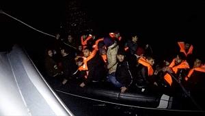 Çanakkale'de 33 düzensiz göçmen yakalandı