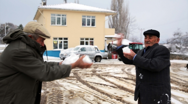 Kar Balkanlara açılan sınır kapısından girdi