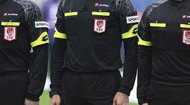 Ligde ilk yarının son haftasında oynanacak maçları yönetecek hakemler açıklandı