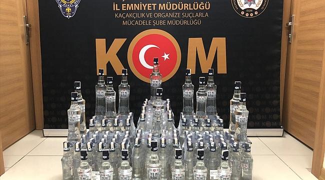 Yeni yıl öncesi Çanakkale'de sahte içki operasyonu