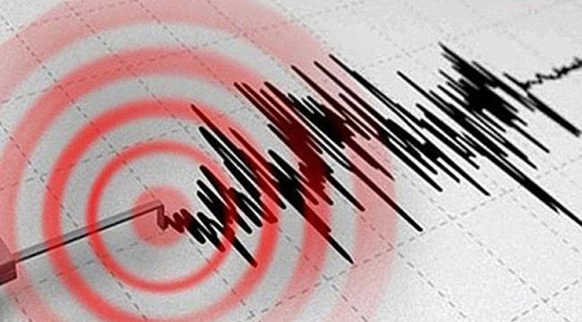 5.1 büyüklüğünde bir deprem