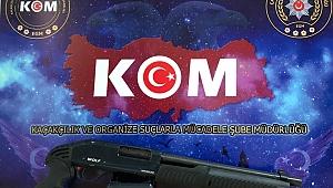 BİGA DA SUÇ ÖRGÜTÜNE ÖZEL HAREKAT VE K-9 LU ŞAFAK OPERASYONU