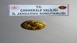 Çanakkale'de tarihi eser kaçakçılığı operasyonunda 1 kişi gözaltına alındı