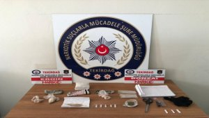 Çorlu'da uyuşturucu operasyonunda 1 kişi yakalandı