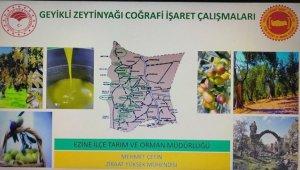 Geyikli zeytin yağı için coğrafi işaret süreci