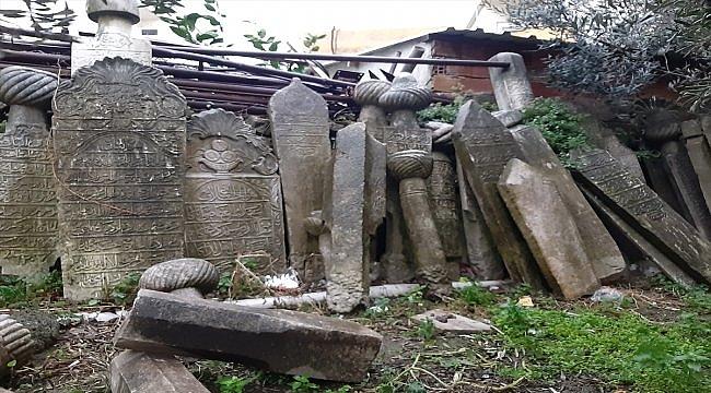 Osmanlı mirası mezar taşları Parion'da sergilenecek