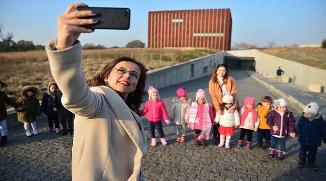 """Troya Müzesi'nde """"Müzede Selfie Günü"""" etkinliği yapıldı"""