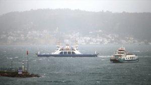 Çanakkale Boğazı fırtına nedeniyle transit gemi geçişlerine kapatıldı