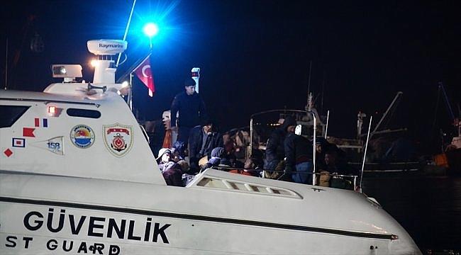 Çanakkale'de 54 düzensiz göçmen yakalandı