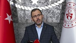 Gençlik ve Spor Bakanı Kasapoğlu federasyon başkanları ile görüşecek