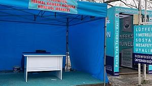 Korona Virüsü ile Mücadele Kapsamında Türkiyedeki İlk Termal Kameralardan Biride Ezine Belediyesinde