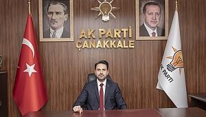AK Parti İl Başkanı Naim Makas'ın 1 Mayıs İşçi Bayramı mesajı