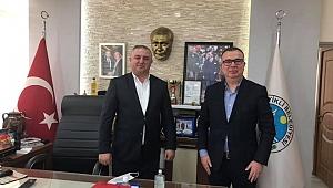 Başkan Oruçoğlu'na CHP'li mevkidaşı Arslan'dan ziyaret