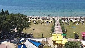 Çanakkale'de yüzme alanları belli oldu.