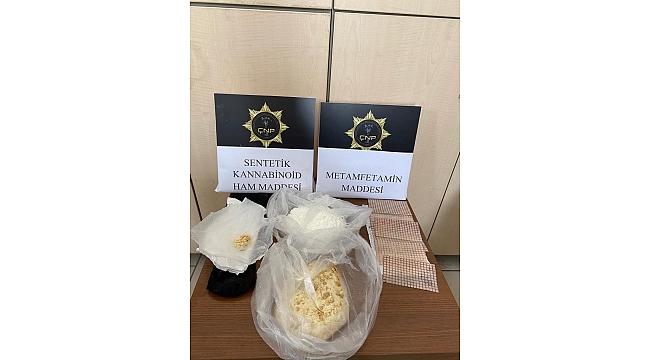 Çanakkale'de 20 kilogram sentetik uyuşturucu ele geçirildi