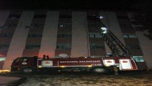 Çanakkale'de hastanede çıkan yangın söndürüldü