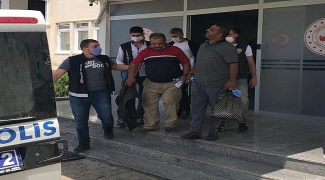 Çanakkale'deki uyuşturucu operasyonunda gözaltına alınan 4 kişiden 3'ü tutuklandı