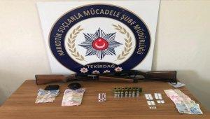 """Tekirdağ'da """"cinsel istismar"""" suçundan aranan kişi uyuşturucu operasyonunda yakalandı"""