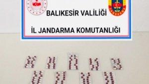 Balıkesir'de uyuşturucu operasyonu: 2 gözaltı