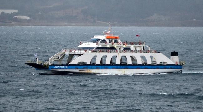 Gökçeada-Kabatepe feribot hattında günde 6 sefer yapılacak