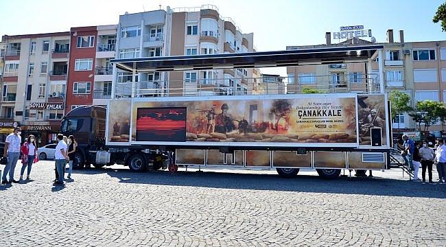 """""""Çanakkale Mobil Müzesi"""" Çanakkale ruhunu tüm Türkiye'ye anlatacak"""