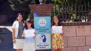 """Çanakkaleli öğrenciler """"Ay'da Yaşam"""" temalı uluslararası yarışmada ödül aldı"""