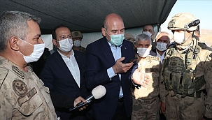 Cumhurbaşkanı Erdoğan, Nuh Peygamber Üs Bölgesi'ndeki askerlerin bayramını kutladı