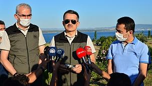 Tarım ve Orman Bakanı Pakdemirli Çanakkale'de