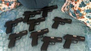 Tekirdağ'da 12 ruhsatsız silah ele geçirildi