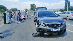 Çanakkale'de jipin çarptığı ATV sürücüsü ağır yaralandı