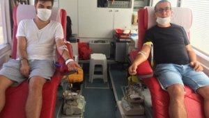 Gelibolu'da Kızılay'a 160 ünite kan bağışı yapıldı