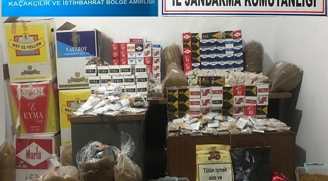 Çanakkale'de kaçakçılık operasyonu