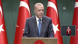 CANLI-Cumhurbaşkanı Erdoğan: Toplu taşımada ayakta yolcu alınmasına kesinlikle müsaade edilmeyecek