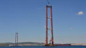 """""""Simgelerin köprüsü"""" Çanakkale'nin çehresini değiştirecek"""