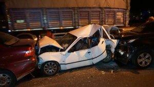 Balıkesir'de üç trafik kazasında 9 kişi yaralandı