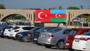 "Biga'dan Azerbaycan'a ""bayraklı"" destek"
