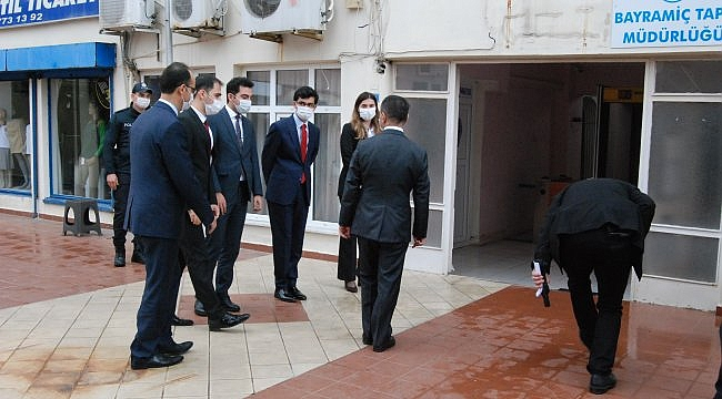 Çanakkale Valisi Aktaş Bayramiç ilçesini ziyaret etti