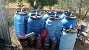 Çanakkale'de 1730 litre kaçak içki ele geçirildi
