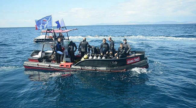 Çanakkale'de Majestic batığına dalış turizmi çalışmalarında sona yaklaşıldı