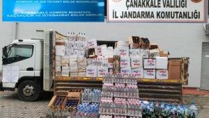 Çanakkale'de sahte içki operasyonu: 5 gözaltı