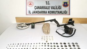 Çanakkale'de tarihi eser operasyonu: 2 gözaltı
