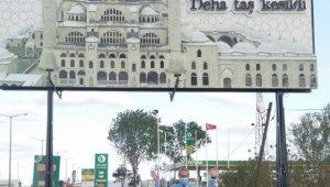 Edirne şehir girişlerindeki tanıtıcı tabelalar ilgi görüyor