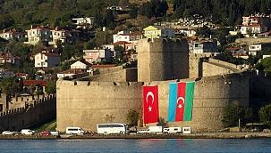 Tarihi Gelibolu Yarımadası'ndan Azerbaycan'a destek