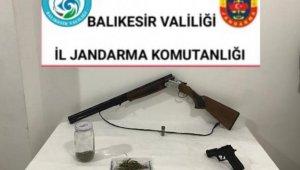 Balıkesir'de uyuşturucu operasyonunda bir kişi yakalandı