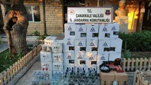 Çanakkale'de sahte içki operasyonu: 4 gözaltı