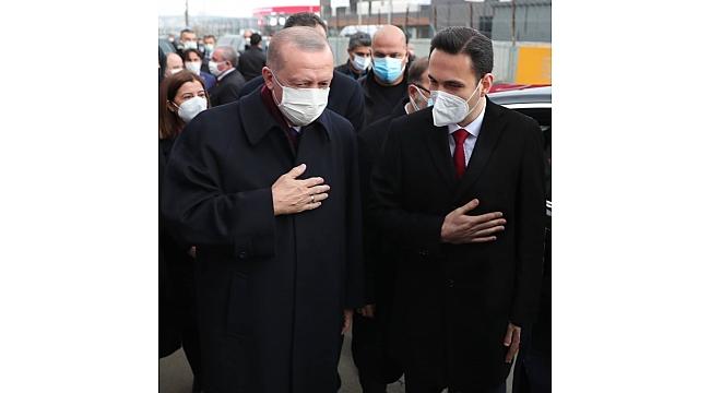 Cumhurbaşkanı Erdoğan, İl Başkanı Makas ile görüştü