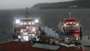 Çanakkale'de beklenen yağmur başladı