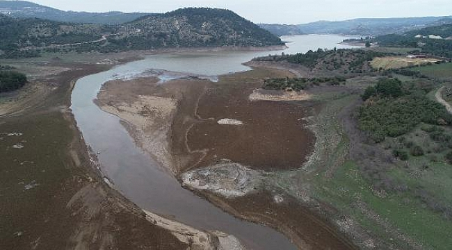 Kar yağışı, Çanakkale'nin Atikhisar Barajı'na can suyu oldu