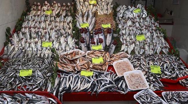 Çanakkale'de havalar ısındı balık tezgahları doldu, fiyat düştü