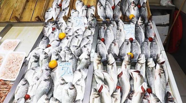 Çanakkale'de kar ve fırtına balık tezgahlarını vurdu